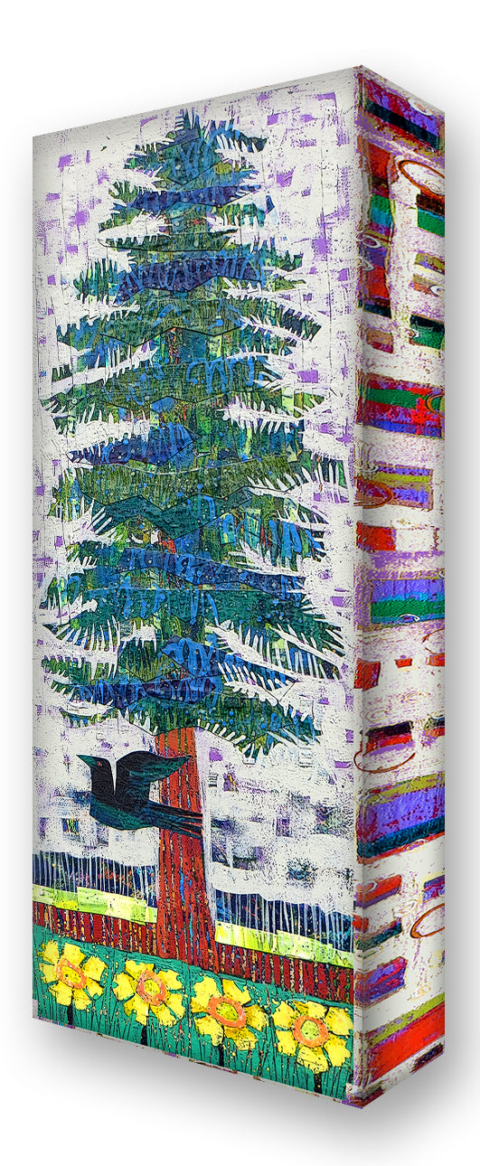 Blue Spruce 4:  Metal 17x44 Inches