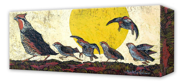 Follow the Leader:  Metal 16.5x42 Inches