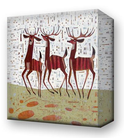 Three Amigos:  Metal 18x18 Inches