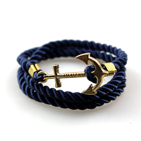 'ANCHOR lll' Rope Bracelet