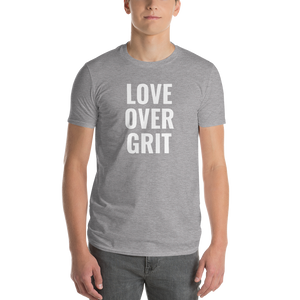 LOVE OVER GRIT TEE