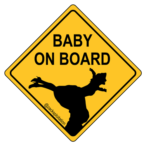 Baby On Board Die Cut Stickers