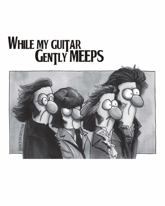 While My Guitar Gently Meeps