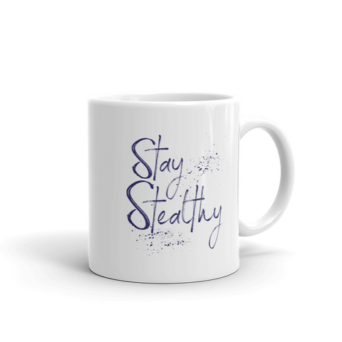 stay stealthy 11oz coffee mug