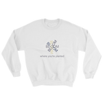 Bloom where you're planted - sweatshirt