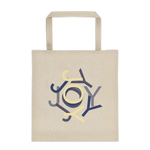Surrounded by Joy - canvas tote bag
