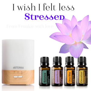 I want to feel less stressed Kit