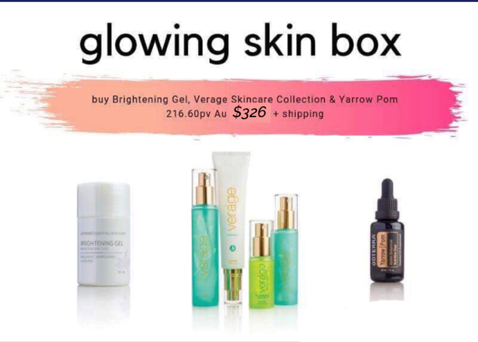 Glowing Skin Box