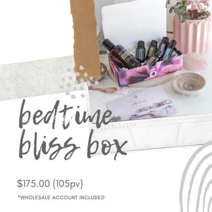 DōTERRA Bedtime Bliss Enrollment Box