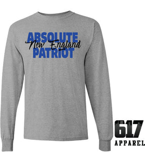 Absolute Patriot New England Long Sleeve T-Shirt