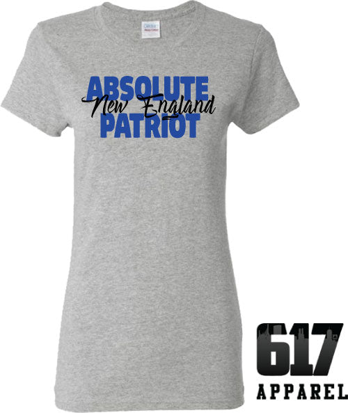 Absolute Patriot New England Ladies T-Shirt