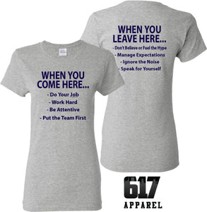 The Belichick Way Ladies T-Shirt
