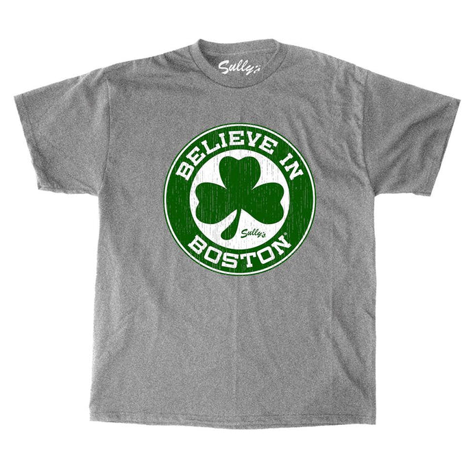 Believe in Boston - Basketball Shamrock - Unisex T-Shirt