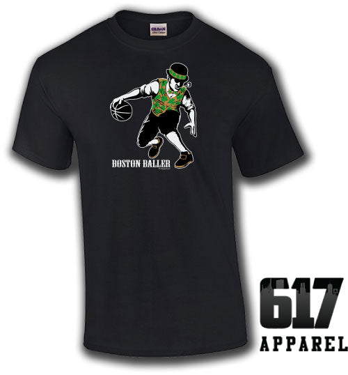Boston Baller lucky Basketball Youth T-Shirt
