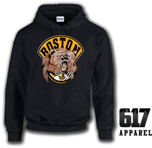 Boston Bear Hockey Hoodie