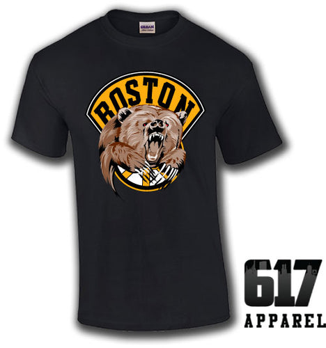 Boston Bear Hockey Unisex T-Shirt