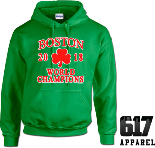 Boston World Champions 2018 Hoodie
