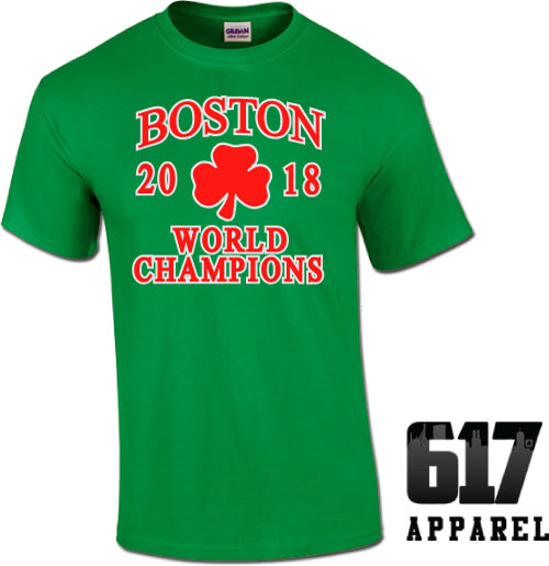 Boston World Champions 2018 Youth T-Shirt
