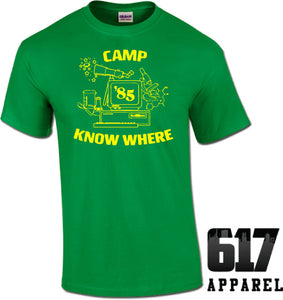 """Camp Know Where"" Sranger Things Unisex T-Shirt"