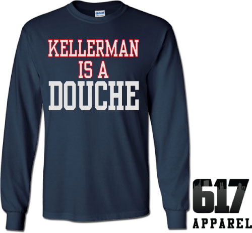 KELLERMAN is a DOUCHE Long Sleeve T-Shirt