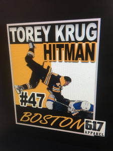 Krug Hitman #47 Boston Hockey Long Sleeve T-Shirt