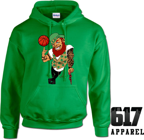 Lucky the Thug Boston Basketball Hoodie