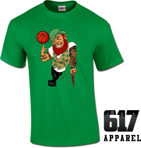 Lucky the Thug Boston Basketball Unisex T-Shirt