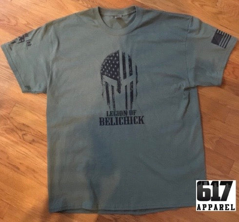 Legion of Belichick Spartan Military Unisex T-Shirt