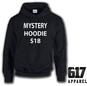 One Small HOODIE Mystery T-Shirt $17