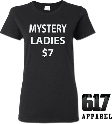 One Medium LADIES Mystery T-Shirt $7