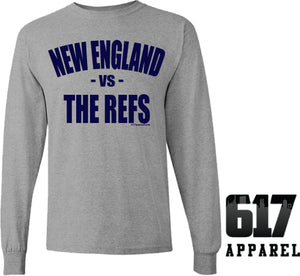 New England vs THE REFS Long Sleeve T-Shirt