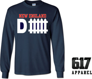 New England D-Fence Long Sleeve T-Shirt