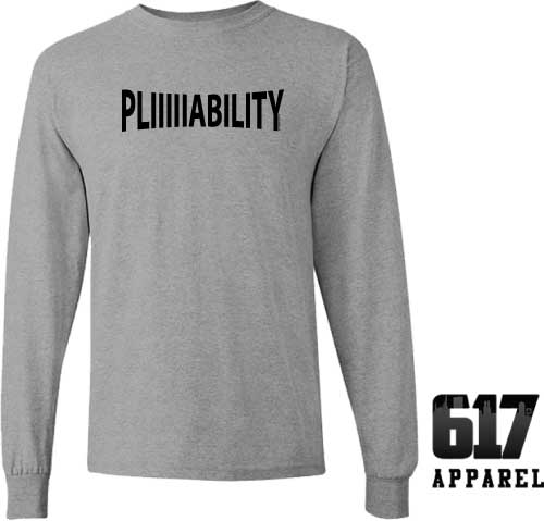 PLIIIIABLE New England Football Long Sleeve T-Shirt