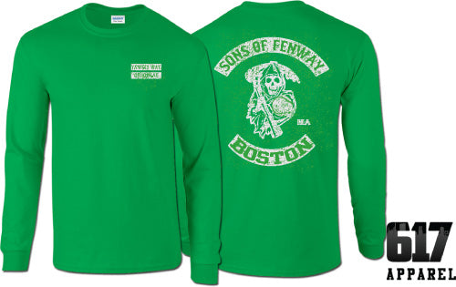 Sons of Fenway Boston Baseball Long Sleeve T-Shirt