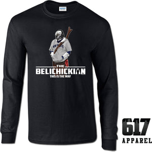 The Belichickian New England Long Sleeve T-Shirt
