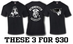 Three Pack New England Unisex T-Shirts $30