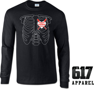X-RAY Boston Baseball Long Sleeve T-Shirt