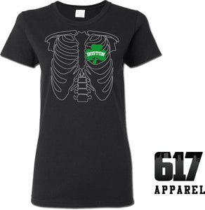 X-RAY Boston Basketball Ladies T-Shirt