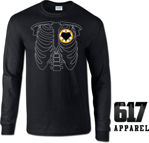 X-RAY Boston Hockey Long Sleeve T-Shirt