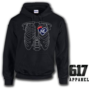 X-RAY New England Football Hoodie