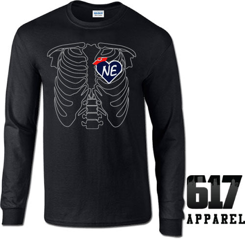X-RAY New England Football Long Sleeve T-Shirt