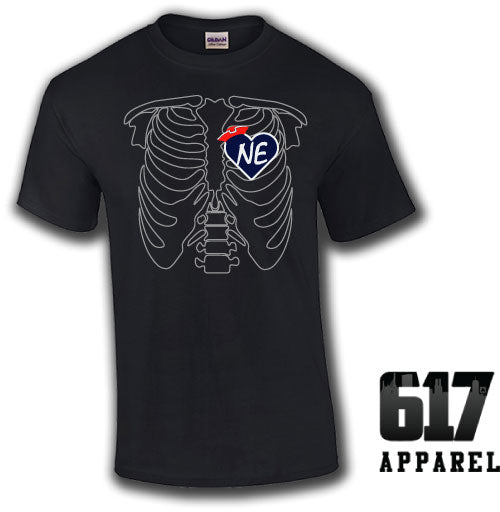 X-RAY New England Football Unisex T-Shirt