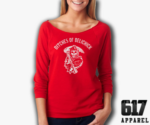 Bitches of Belichick Ladies 3/4 Raglan T-Shirt