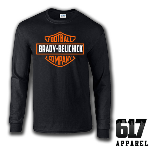 Brady-Belichick Football Company Long Sleeve T-Shirt
