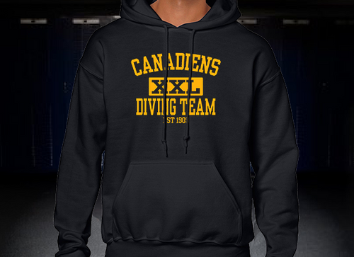 Candadiens XXL Diving Team Hoodie