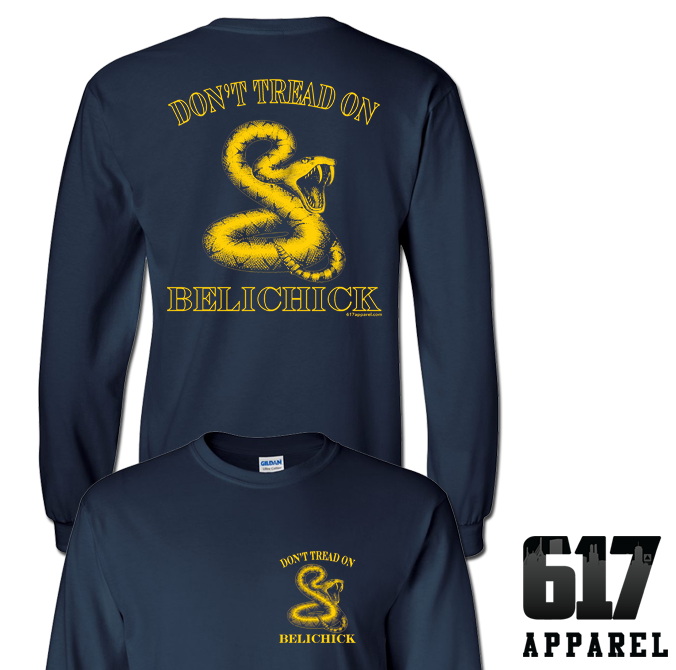Don't Tread on Belichick Long Sleeve T-Shirt