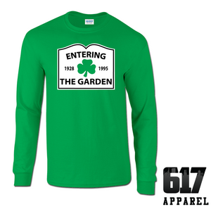 Entering The Garden (Basketball) Long Sleeve T-Shirt