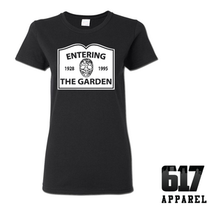 Entering The Garden (Hockey) Ladies T-Shirt