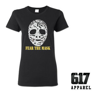 Fear the Mask Ladies T-Shirt