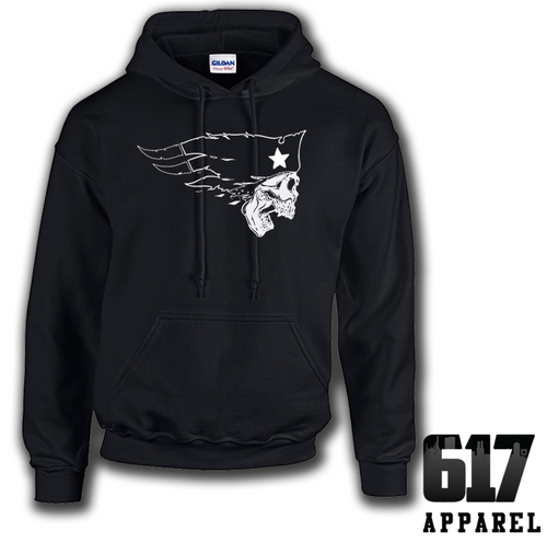 New England Flying Skull Hoodie